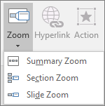Những hiệu ứng nhấn vào thì phóng to hình ra trong powerpoint